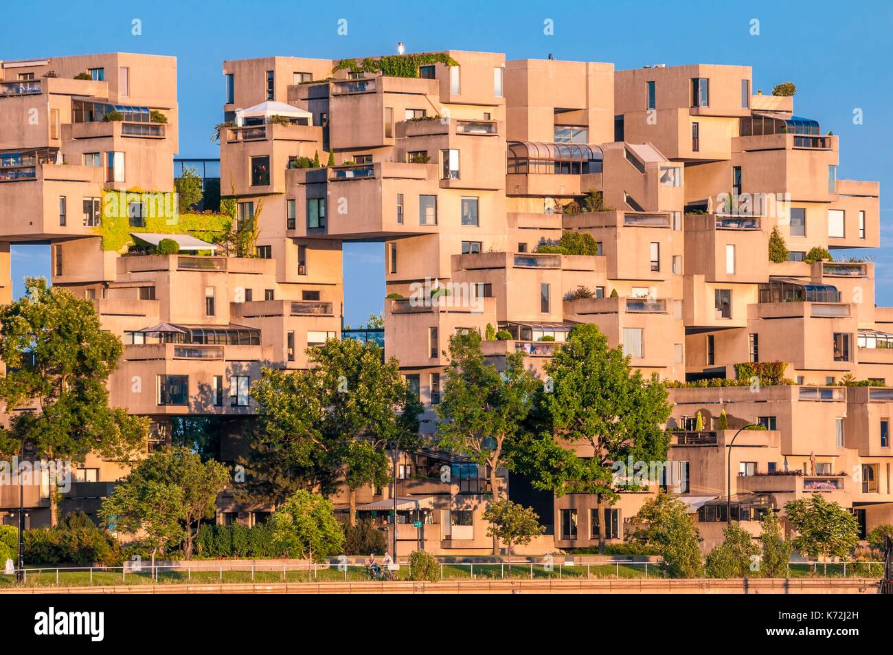 Quebec Montreal Canada Province Of Quebec Montreal Habitat 67 Or Simply Habitat Is