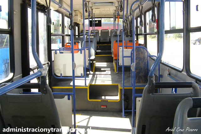 Transantiago E11   Unitran   Busscar Urbanuss Pluss - Mercedes Benz / BJFP53
