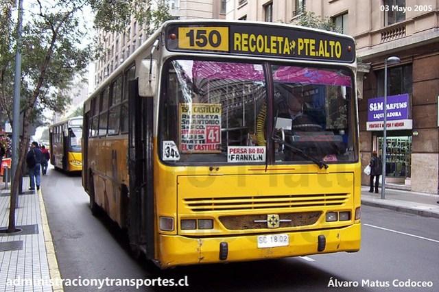 Micro Amarilla 150 | Busscar Urbanus - Mercedes Benz / SC1802