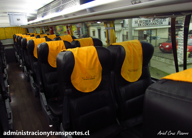 Talca París & Londres N° 6010 | Semi Cama | Modasa Zeus 3 - Volvo B420R 8x2 / HTRF43