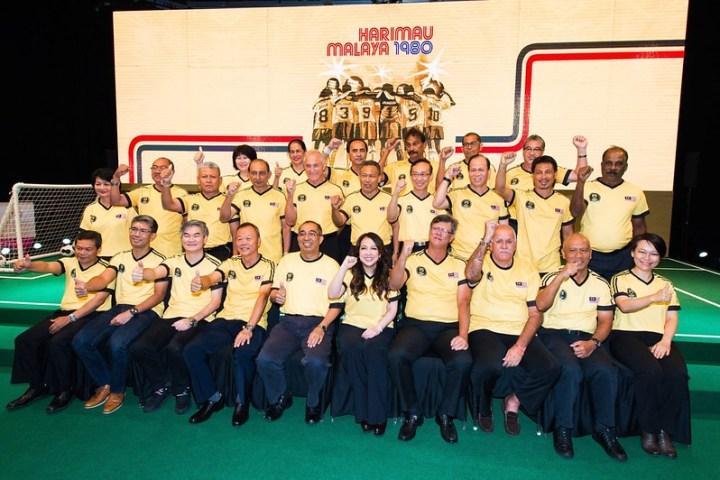 Harimau Malaya 1980 Group 1