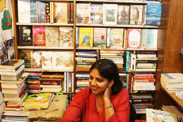 City List – The Lovely Shop Assistants of The Book Shop in Jorbagh
