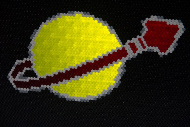 Lego Classic Space Logo Closeup