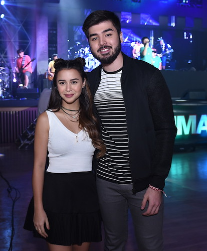 Yassi Pressman and Andre Paras