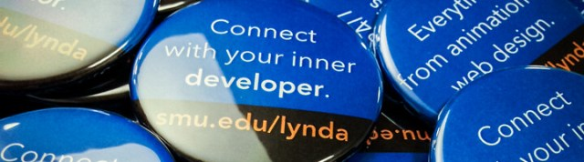 smu.edu/lynda button magnets