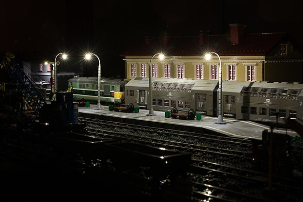 PKP Bhp with PKP ST43 - Brickstuffing the diorama