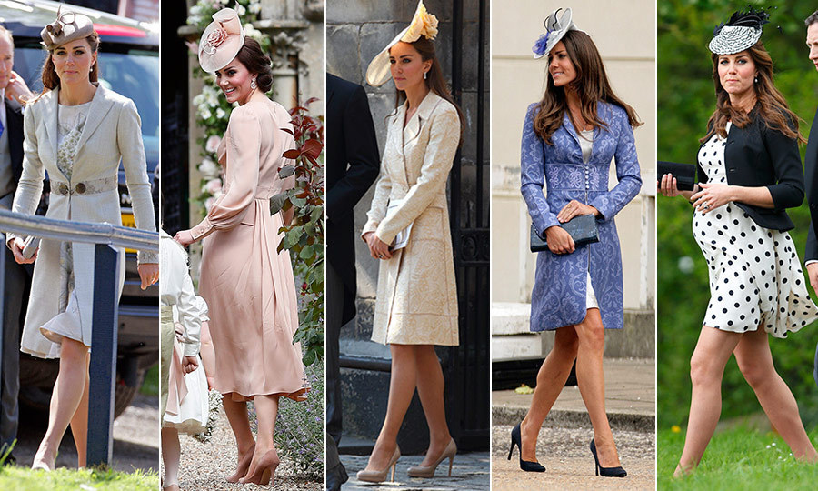 All of Duchess Kate\u0027s best wedding guest looks - HELLO! Canada