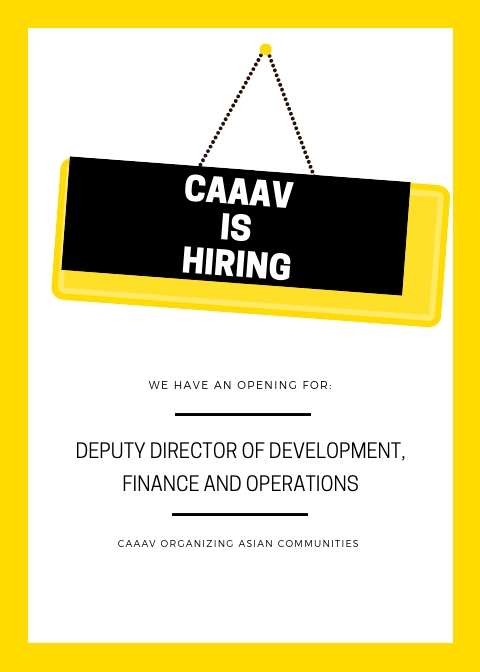 Searching for Deputy Director of Development, Finance and Operations