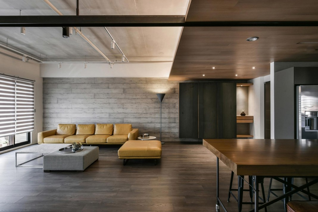 Ikea Industrieel Home Interior Design - Contemporary Loft By Aya Living Group