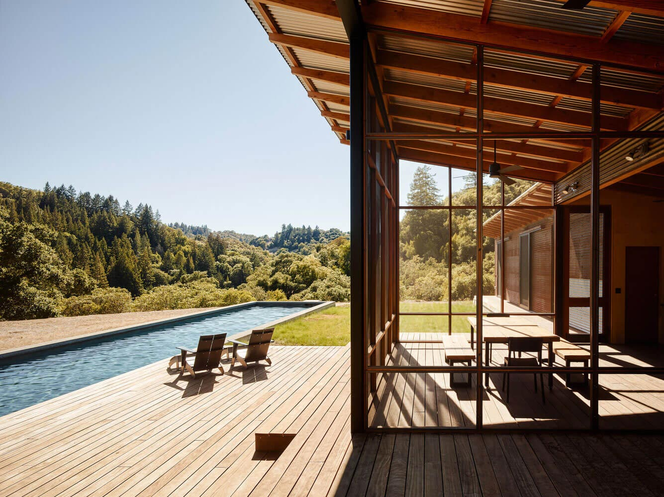 Amenagement Terrasse En Bois Composite Malcolm Davis Architecture Built An Off The Grid Home, An