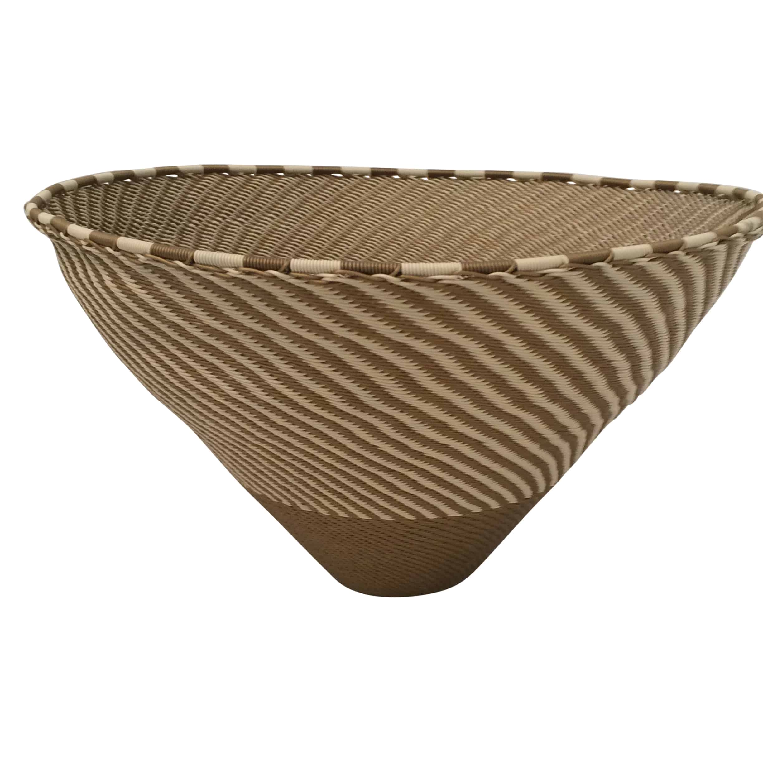 African Woven Hamper Woven African Wire Baskets Cabana Home
