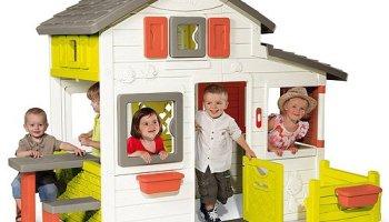 Smoby - 810704 - Maison Nature, une bonne petite cabane de jardin ...