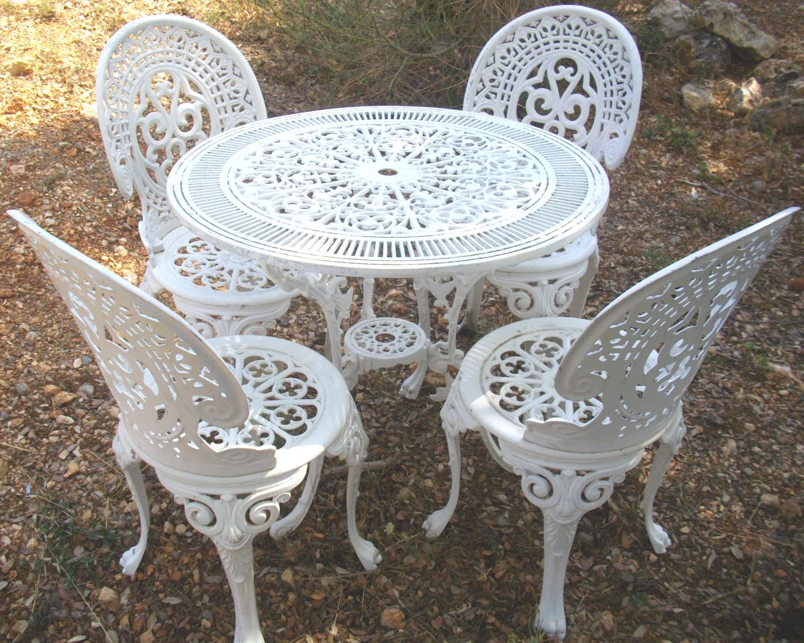 Table De Jardin Fer Forgé Pas Cher | Mobilier De Jardin En Fer Forge ...