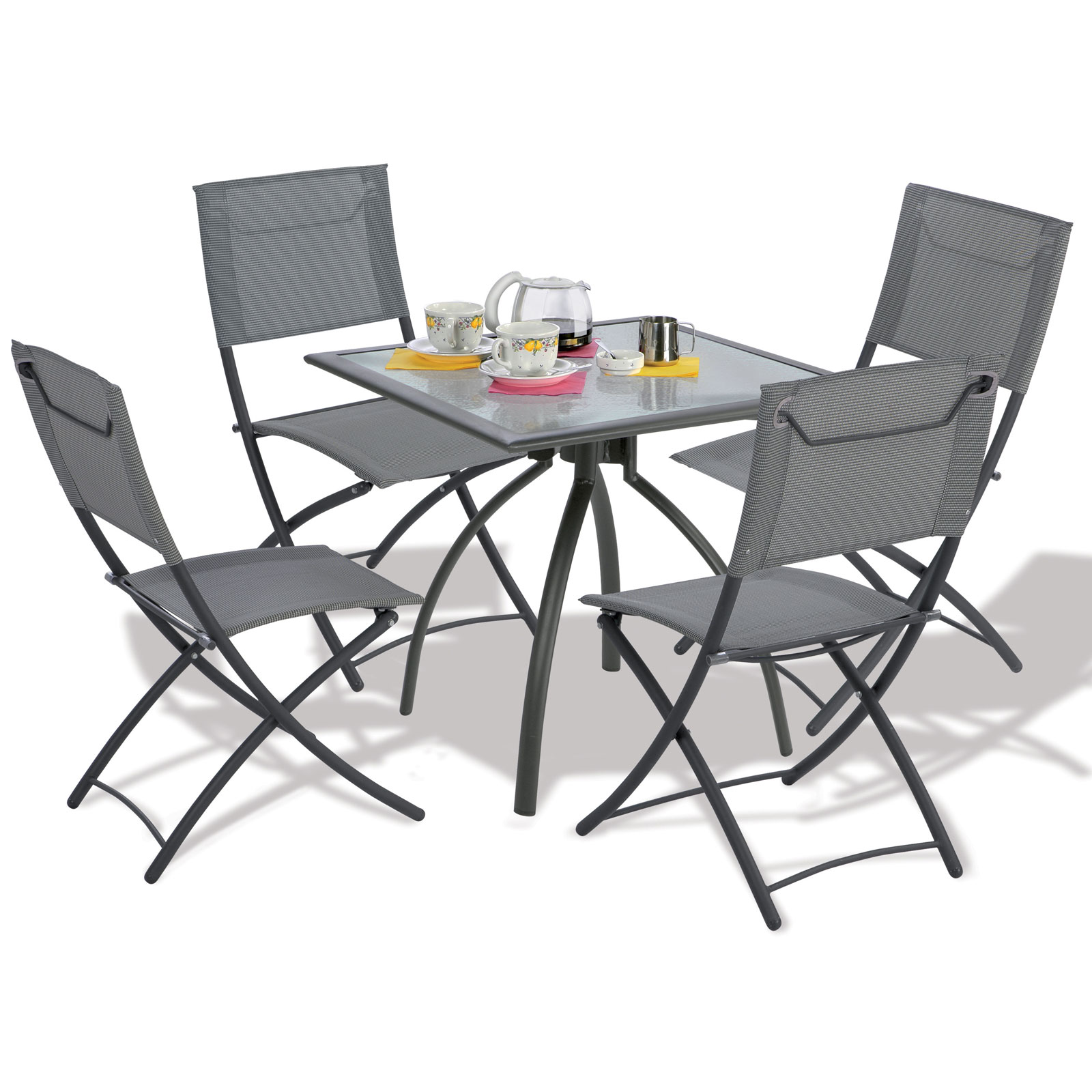 Table Et Chaise De Jardin Aluminium Solde Table Et Chaise De Jardin Table De Jardin Aluminium Gris