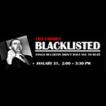 Jan. 31: Blacklisted