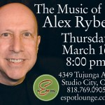 March 16: The Music of Alex Rybeck