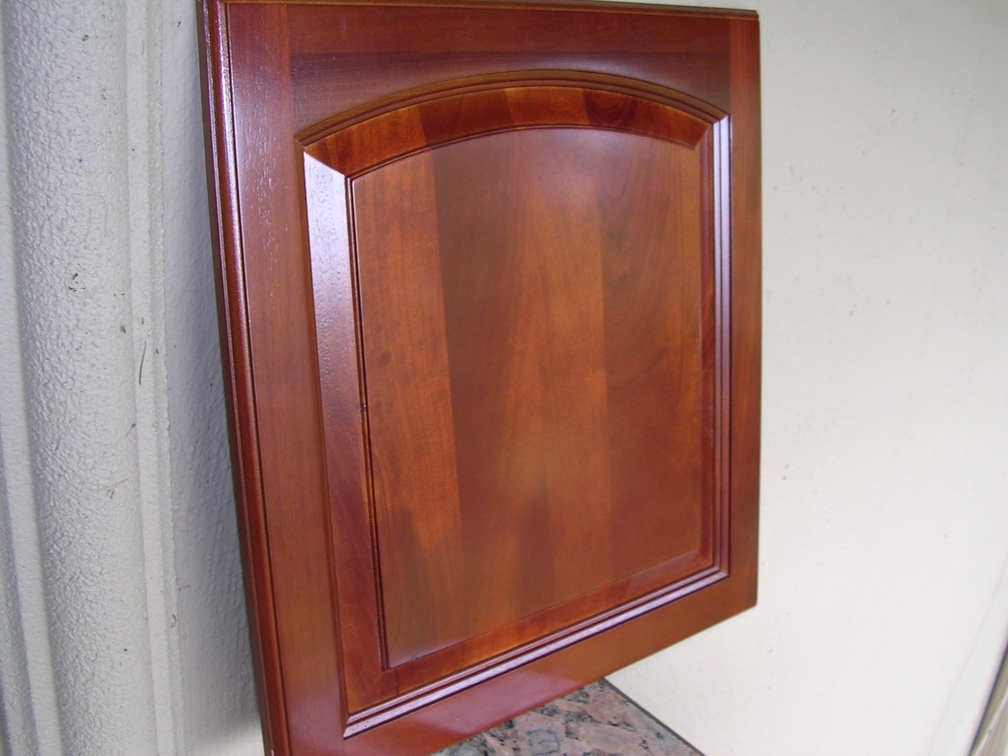 Cherry Kitchen Cabinet Doors Traditional Cherry Arched Kitchen Cabinets Photo Album