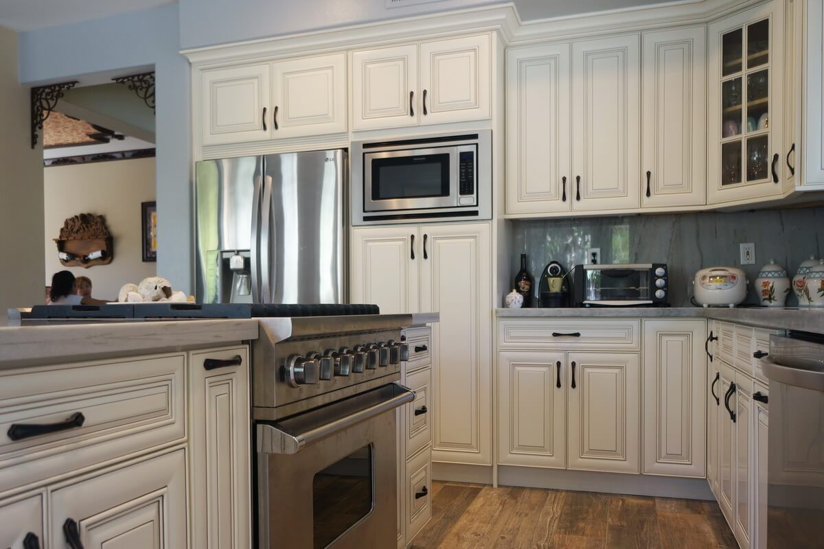 Rta Kitchen Cabinets Los Angeles Cabinet City Antique White Rta Cabinets