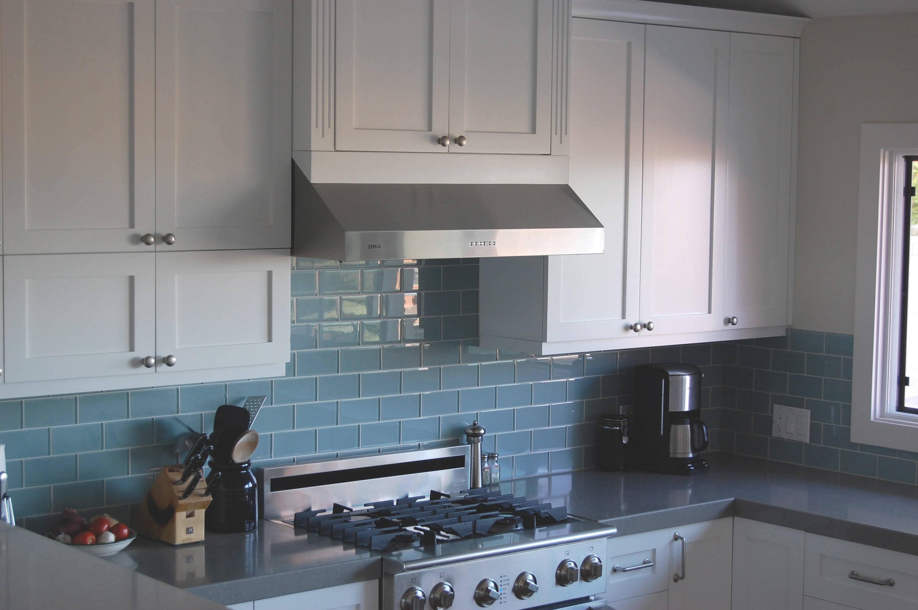 Kitchen Backsplash Ideas With White Cabinets 3 Blue Kitchen Backsplashes You Ll Love Cabinet City Kitchen And