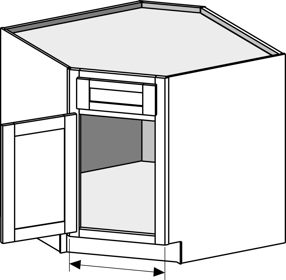 Standard Kitchen Corner Cabinet Sizes Base Cabinets Cabinet Joint