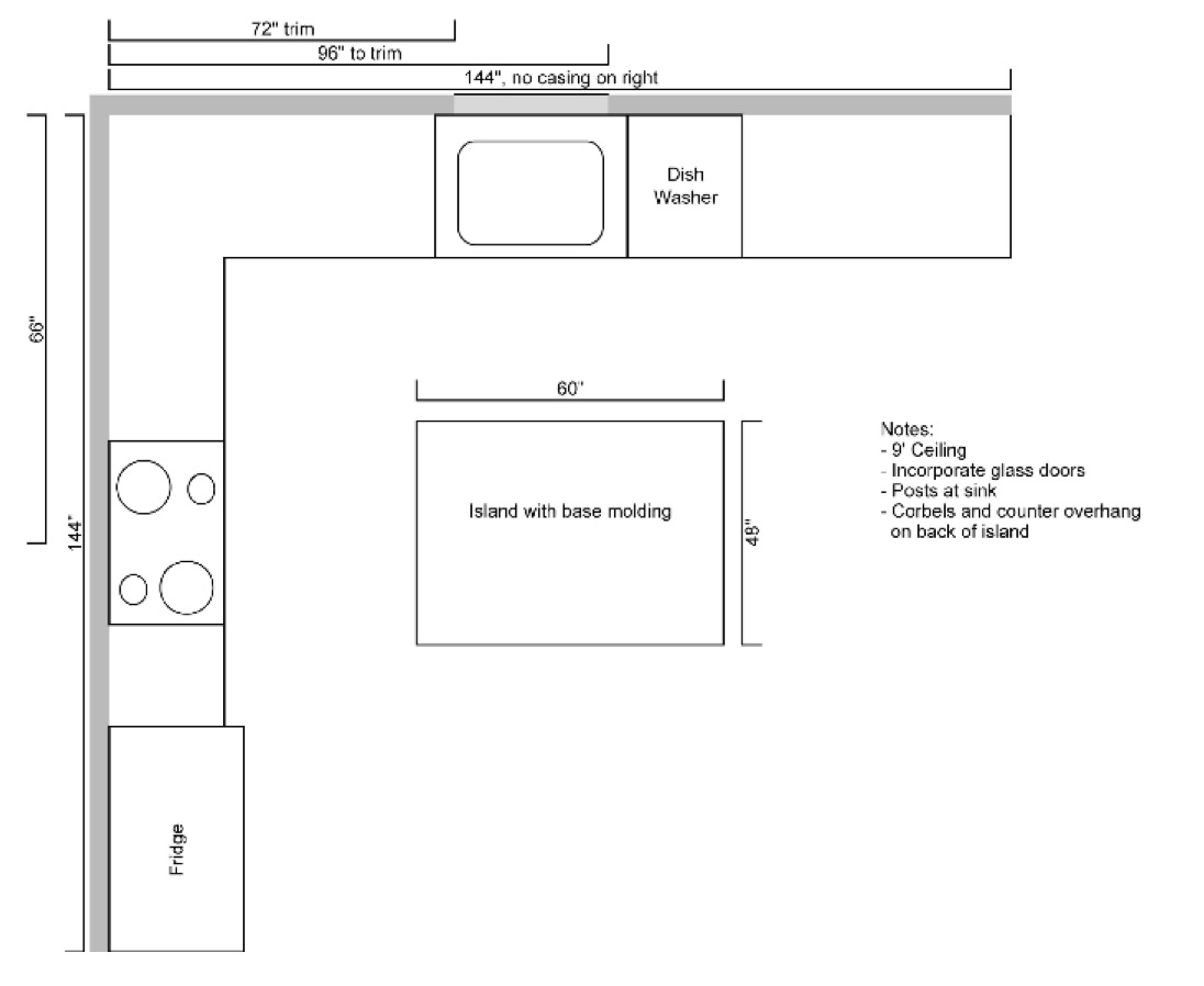 Measuring Kitchen Cabinets Submit Drawings Cabinet Joint