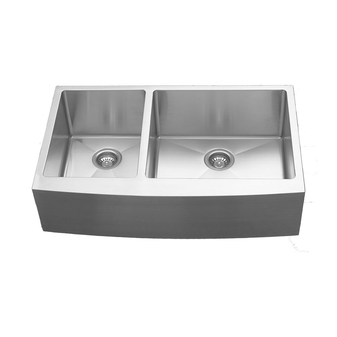 Can You Use Undermount Sink With Laminate Countertops Karran Elite El 87 Double Undermount Bowl W Apron