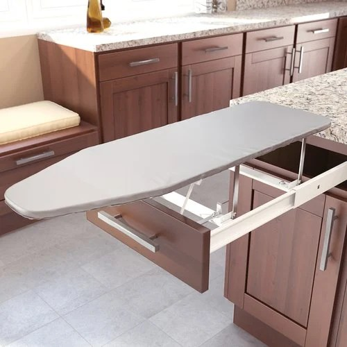 Muebles De Planchar Vauth Sagel Drawer Mount Pull-out Ironing Board White 9000