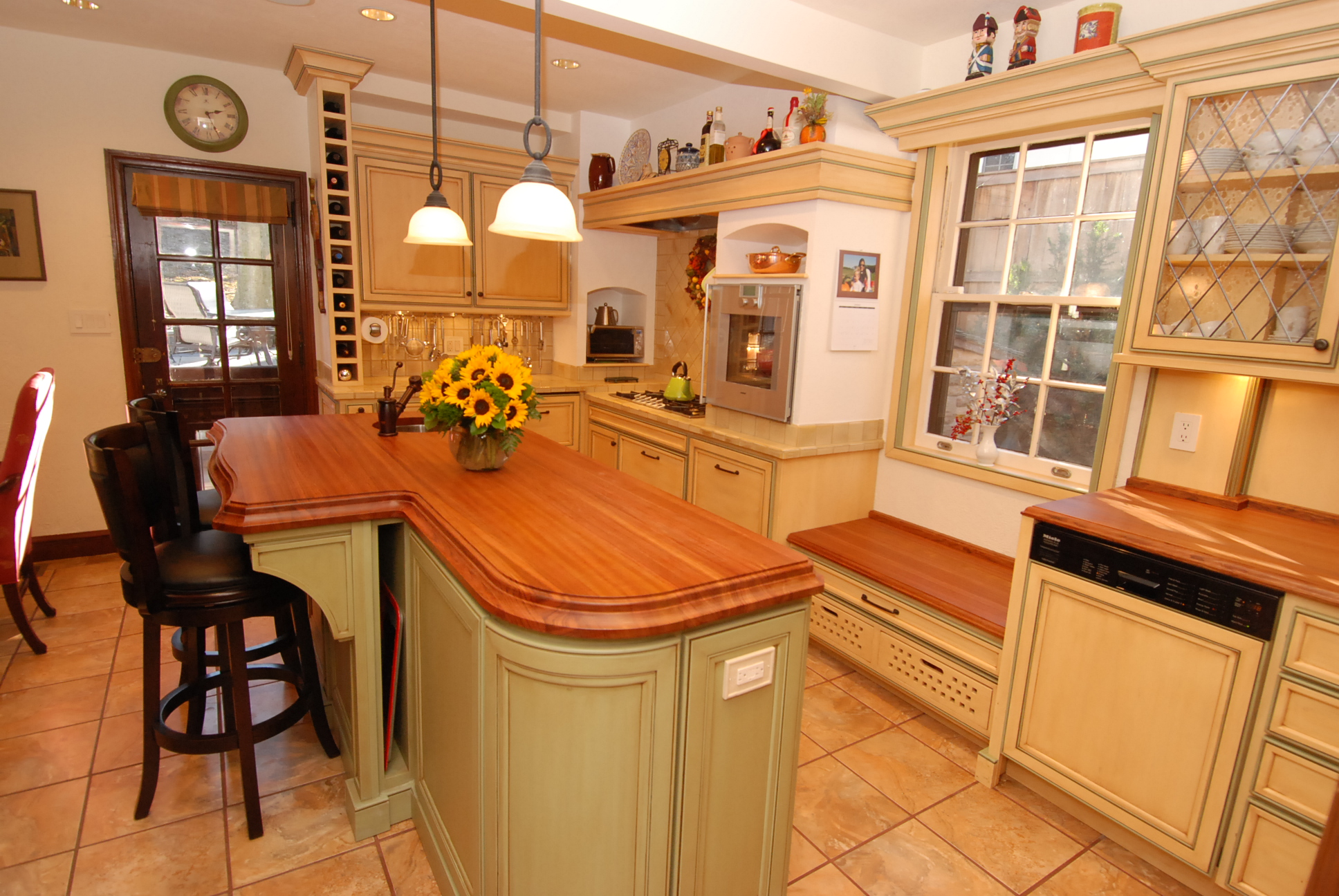 Butcher Block Countertops Care Caring For Wooden Countertops Cabinets By Graber