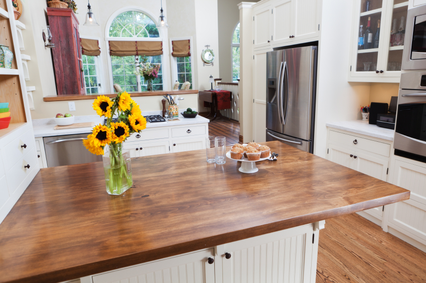 Butcher Block Countertop Care How To Care For Your Butcher Block Countertops - Cabinets