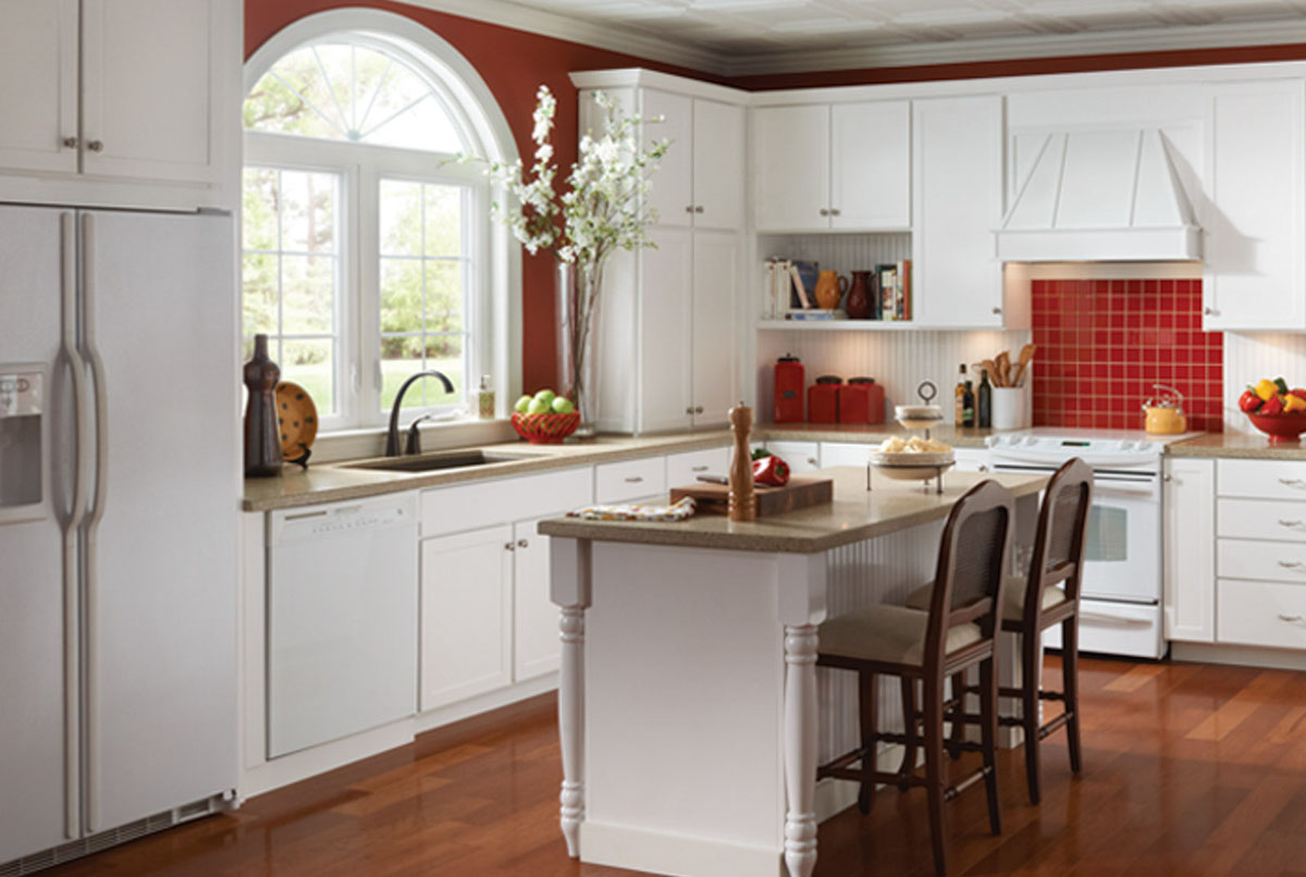 Thermofoil Kitchen Cabinets Marianna Thermofoil Kitchen Cabinets Detroit Mi Cabinets