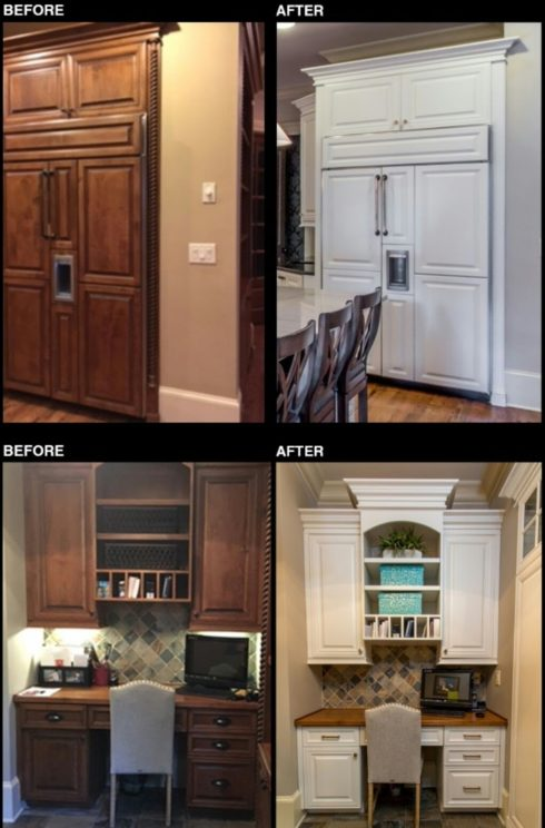 Kitchen Cabinet Refacing Denver Cabinet Refinishing Company In Denver - Cabinets