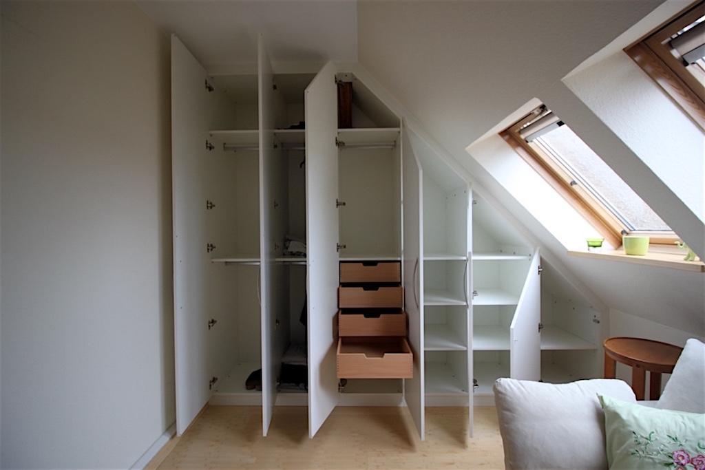 Schrank Selber Bauen Dachschräge   Dachschrägenschrank, Schränke Für Dachschrägen
