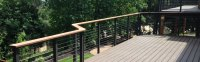 Modern Deck Rails: Glass vs Cable | Cable Railing Direct