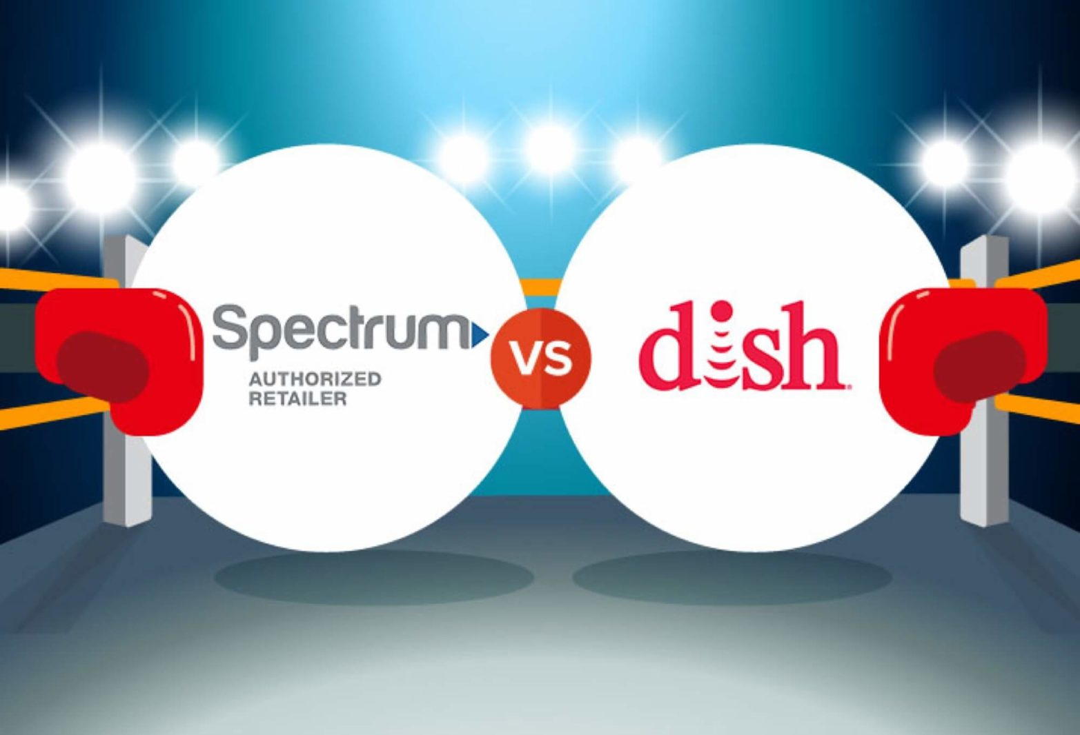 / Vs Compare Spectrum Vs Dish Cabletv