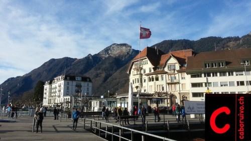 Eine Sekunde Mitleid für die Schweizer Flagge