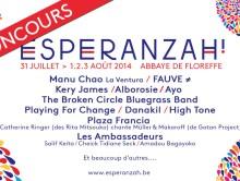 [concours] 6 places en jeu pour le Festival Esperanzah !