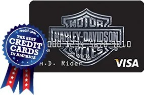 Harley Davidson Visa Secured Card from US Bank