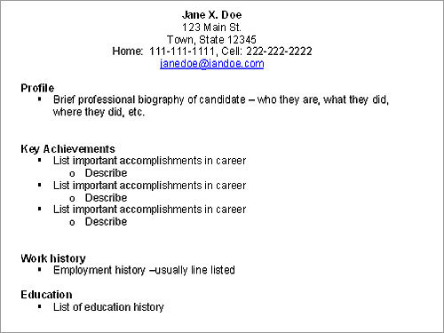 type a resume - Goalgoodwinmetals