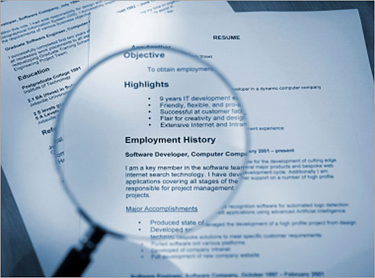 how to present your cv in an interview
