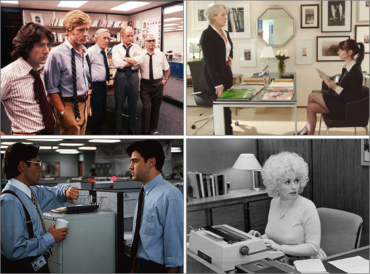 The best movies about offices - Boston