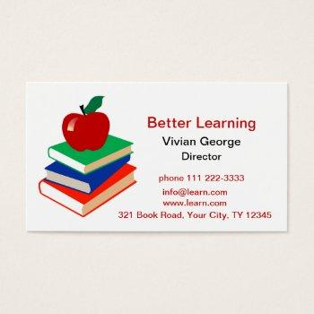Apple Knowledge Business Cards Business Cards 100