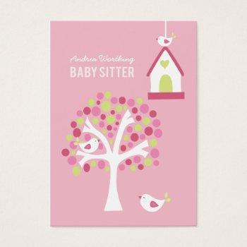 Baby Sitting Business Cards Business Cards 100