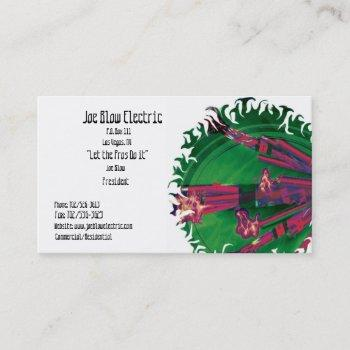 Electronics And Electrical Business Cards Business Cards 100