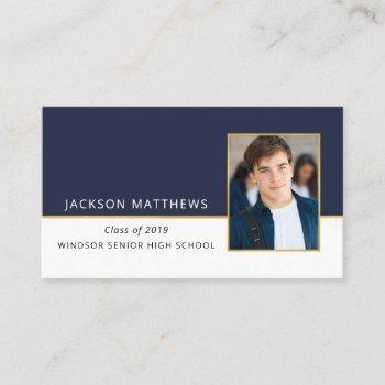 High School Graduation Announcements Business Cards Business Cards 100