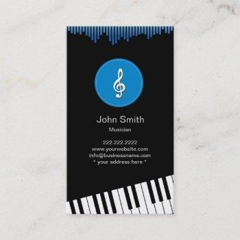 Pianist Business Cards Business Cards 100