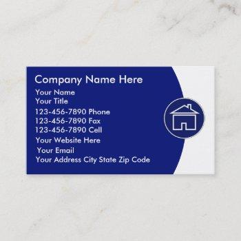 Real Estate Inspection Appraisal Business Cards Business Cards 100