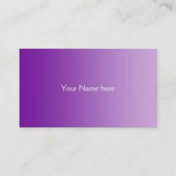 Only Purple Business Cards Business Cards 100