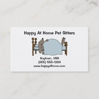 Pet Sitter Business Cards OxynuxOrg