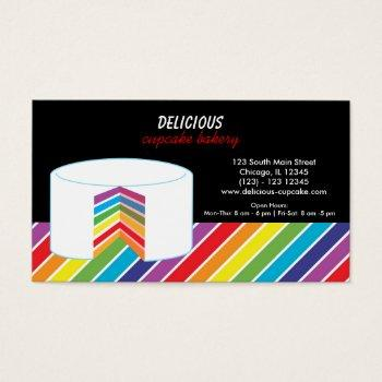 Rainbow Profile Business Cards Business Cards 100