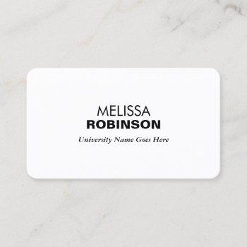 Job Search Business Cards Business Cards 100great examples create